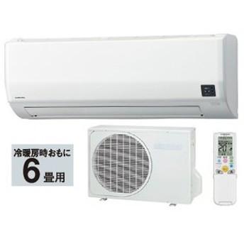 CORONA/コロナ CSH-W2219R(W) ルームエアコン Wシリーズ ホワイト 【おもに6畳用】
