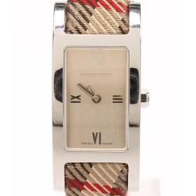 バーバリー クォーツ腕時計 バーバリーチェック BU1015 クオーツ BURBERRY レディース  中古