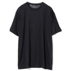 POSTELEGANT / リヨセル シアーTシャツ レディース Tシャツ NAVY 38