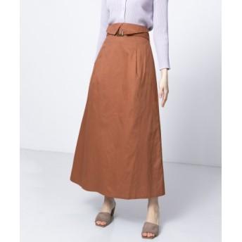 SENSE OF PLACE(センスオブプレイス) スカート スカート ウエストベルトマキシスカート