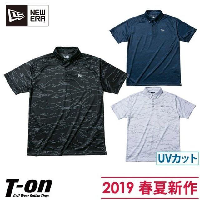 c961e4d94342a ポロシャツ メンズ ニューエラ ゴルフ NEW ERA 日本正規品 2019 春夏 新作 ゴルフウェア