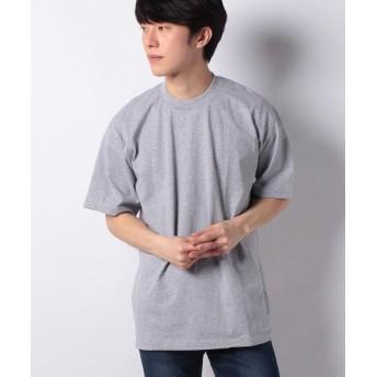 マルカワ 大きいサイズ 半袖 Tシャツ 無地 ヘビーウエイト 厚地 プロクラブ メンズ ミディアムグレー 6L 【MARUKAWA】