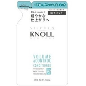 コーセー KNOLL スティーブンノル  ボリュームコントロール  コンディショナー (詰替え用)400ml