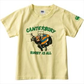 【1枚までメール便可】 [canterbury]カンタベリー ジュニア Tシャツ (RAJ39341)(51) ソフトクリーム[取寄商品]