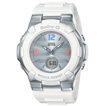 カシオソーラー電波腕時計BABY-G Retro TricolorホワイトBGA1100TR7BJF