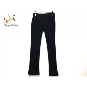 ラルフローレン RalphLauren パンツ サイズ26 S レディース 黒 刺繍/BLACK LEBEL     スペシャル特価 20190816