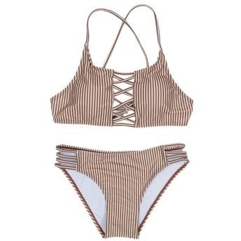 [マルイ] 【SEA DRESS】フロントレースアップシンプルビキニ/水着/ティティベイト(titivate)