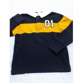 ジンボリー GYMBORee ポロシャツ 長袖 110cm 紺系 ラガー トップス キッズ 男の子 女の子 子供服 通販 買い取り
