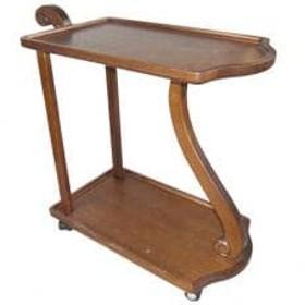 【家具職人手造り】 木製ワゴンのおもてなし
