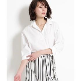 COUP DE CHANCE / クードシャンス 【洗える】SUVIN COTTON シャツ