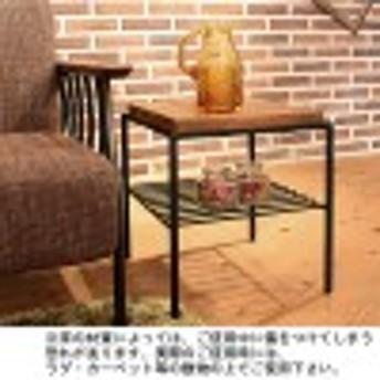 レトロ風サイドテーブル