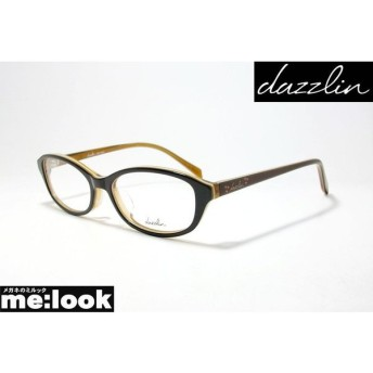 dazzlin ダズリン レディース 眼鏡 メガネ フレーム DZF2553-4-48 ブラウン