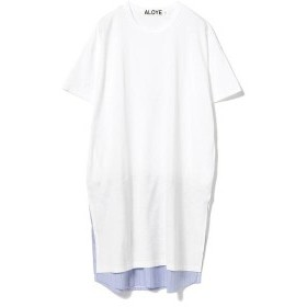 レイ ビームス(Ray BEAMS)/ALOYE / ショートスリーブ Tシャツ ワンピース