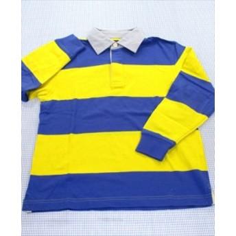 ブルックス・ブラザーズ Brooks Brothers ポロシャツ 長袖 120cm 青/黄色系 トップス キッズ 男の子 女の子 子供服 通販 買い取り