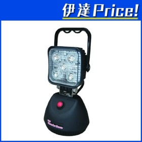 充電式LED投光器 15W 充電式サンダービーム 工事 アウトドア 非常用など [LED-J15]