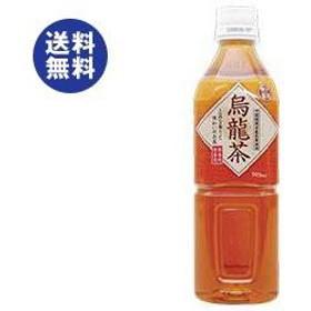 【送料無料】富永貿易 神戸茶房 烏龍茶 500mlペットボトル×24本入