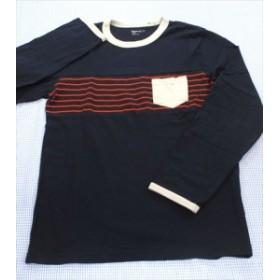 ギャップ GAP 長袖Tシャツ ロンt 160cm 紺系 ボーダー トップス ジュニア 男の子 女の子 子供服 通販 買い取り
