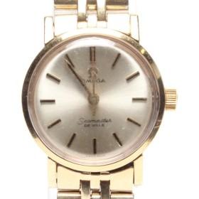 オメガ 腕時計 デビル シーマスター 手動巻き ホワイト レディース OMEGA 中古