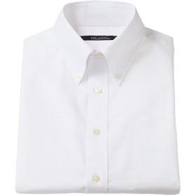 【メンズ】 形態安定ボタンダウンYシャツ(半袖) ■カラー:ホワイト系 ■サイズ:5L