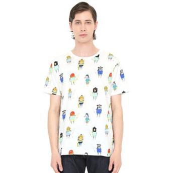 【グラニフ:トップス】Tシャツ/サーファーズアンドスケーターズ(アシュレイパーシバルショートスリーブティー)