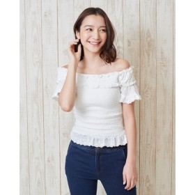 Tシャツ - LIZLISA 【LIZ LISA】フリルシャーリングトップス☆リズリサ