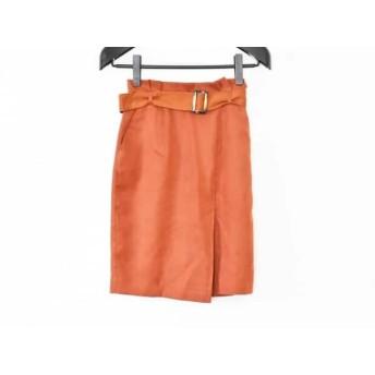 【中古】 アプワイザーリッシェ Apuweiser-riche スカート サイズ1 S レディース ブラウン
