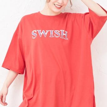 Tシャツ - privatebeach ロゴTシャツ【SWISH】
