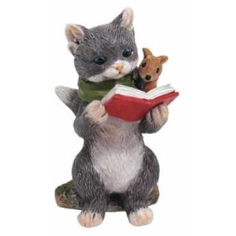 Copeau(コポー)グレン&ティム 読書をするネコとねずみ 72061