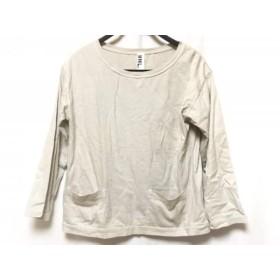 【中古】 マーガレットハウエル MHL. 長袖Tシャツ サイズ2 M レディース グレーベージュ