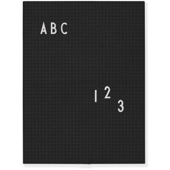 Arne Jacobsen メッセージボード A4 ブラック