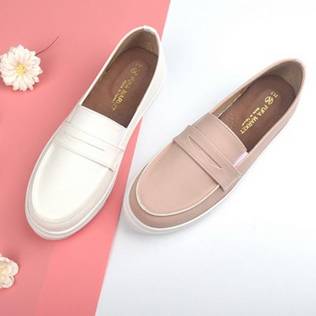 FOFU-平底鞋懶人鞋台灣製MIT女鞋真皮鞋墊懶人鞋【01S1222】