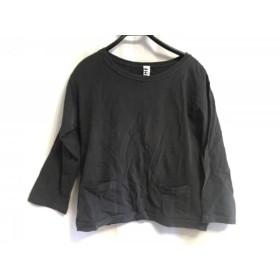 【中古】 マーガレットハウエル MHL. 七分袖カットソー サイズ2 M レディース ダークグリーン