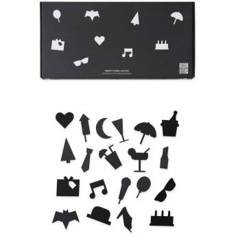 Arne Jacobsen メッセージボード パーティー アイコン ブラック