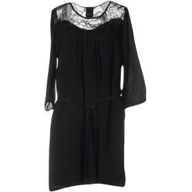 《セール開催中》ICHI レディース ミニワンピース&ドレス ブラック XL レーヨン 100%