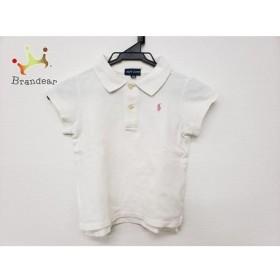 ラルフローレン RalphLauren 半袖ポロシャツ サイズ120 ユニセックス 白 子供服   スペシャル特価 20190721