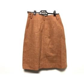 【中古】 マッキントッシュフィロソフィー スカート サイズ34 M レディース オレンジ