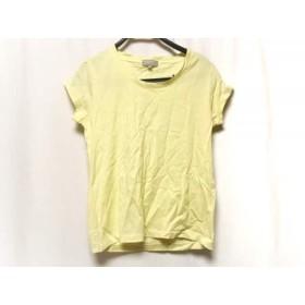 【中古】 マーガレットハウエル MargaretHowell ノースリーブTシャツ サイズ3 L レディース イエロー