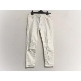 【中古】 トゥルートラサルディ TRU TRUSSARDI パンツ サイズ40 M レディース 白