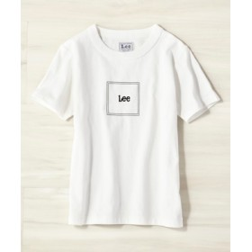 Lee ボックスロゴTシャツ キッズ ホワイト