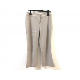 【中古】 トゥービーシック TO BE CHIC パンツ サイズ40 M レディース ベージュ