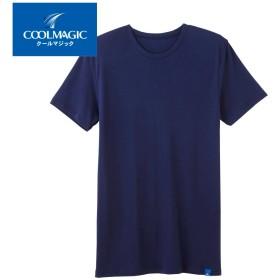 GUNZE グンゼ COOLMAGIC(クールマジック) 【ひんやり一枚着】クルーネックTシャツ(丸首)(メンズ)【SALE】 ホワイト M