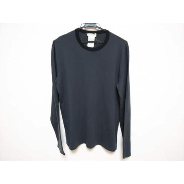 【中古】 アニエスベー agnes b 長袖セーター メンズ ダークグレー 黒