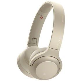 ≪海外仕様≫ブルートゥースヘッドホン WH-H800NME ペールゴールド [ハイレゾ対応 /リモコン・マイク対応 /Bluetooth]