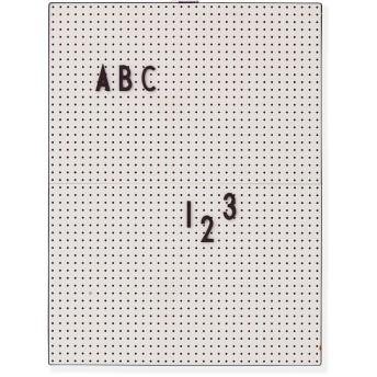 Arne Jacobsen メッセージボード A4 ライトグレー