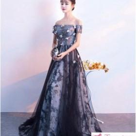 e3bb0035d7809 パーティードレス ロングドレス 披露宴 パーティドレス ワンピース 結婚式 大きいサイズ お呼ばれドレス Aライン