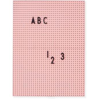 Arne Jacobsen メッセージボード A4 ピンク