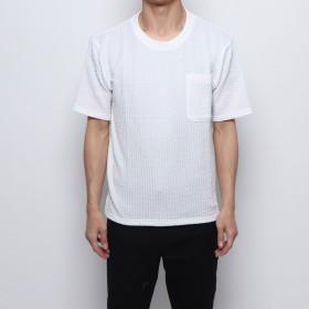 スタイルブロック STYLEBLOCK カットサッカーBIGTシャツ (ホワイト)