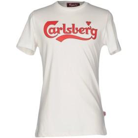 《期間限定セール開催中!》CARLSBERG メンズ T シャツ アイボリー XL コットン 100%