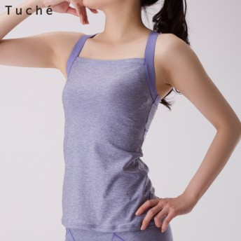 GUNZE グンゼ Tuche(トゥシェ) ACTIBALANCE(アクティバランス)カップ付キャミソール(レディース)【SALE】 ペールオレンジ LL