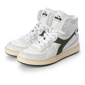 ディアドラ Diadora MI BASKET USED (WHITE/GRAPE LEAF)